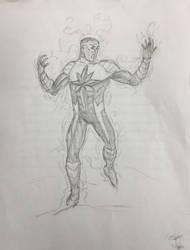 John Stewart Star Sapphire Sketch
