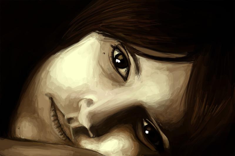 sad girl by Cedecode on DeviantArt