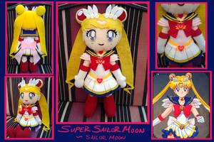 Doll- Super Sailor Moon FOR SALE by phychoticsilence