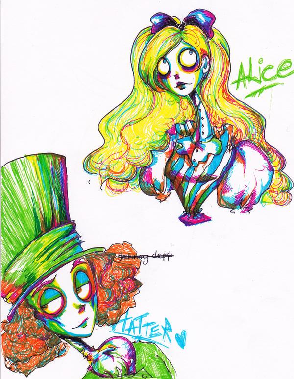 Alice Doodles by KennedyxxJames