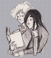 Wanna Read Together? 2 by KennedyxxJames