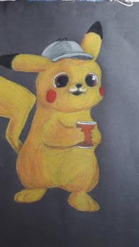 Detective Pikachu fanart