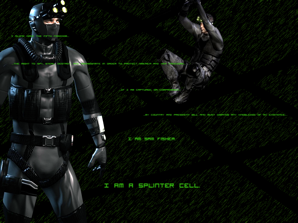 Sam Fisher Wallpaper By Kitime On Deviantart