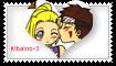 KibaIno-Stamp by Alekat101