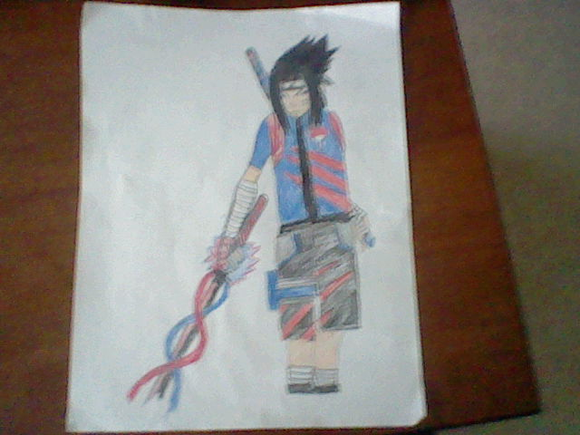 Sasuke's New Outfit by FlamingSpeedNinja on deviantART
