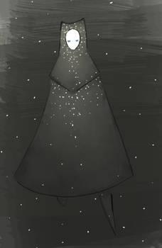 Starry Journey doodle