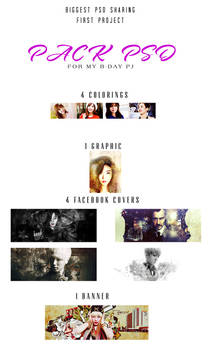 [PJ #1][PSD Giveaway] Biggest PSD sharing