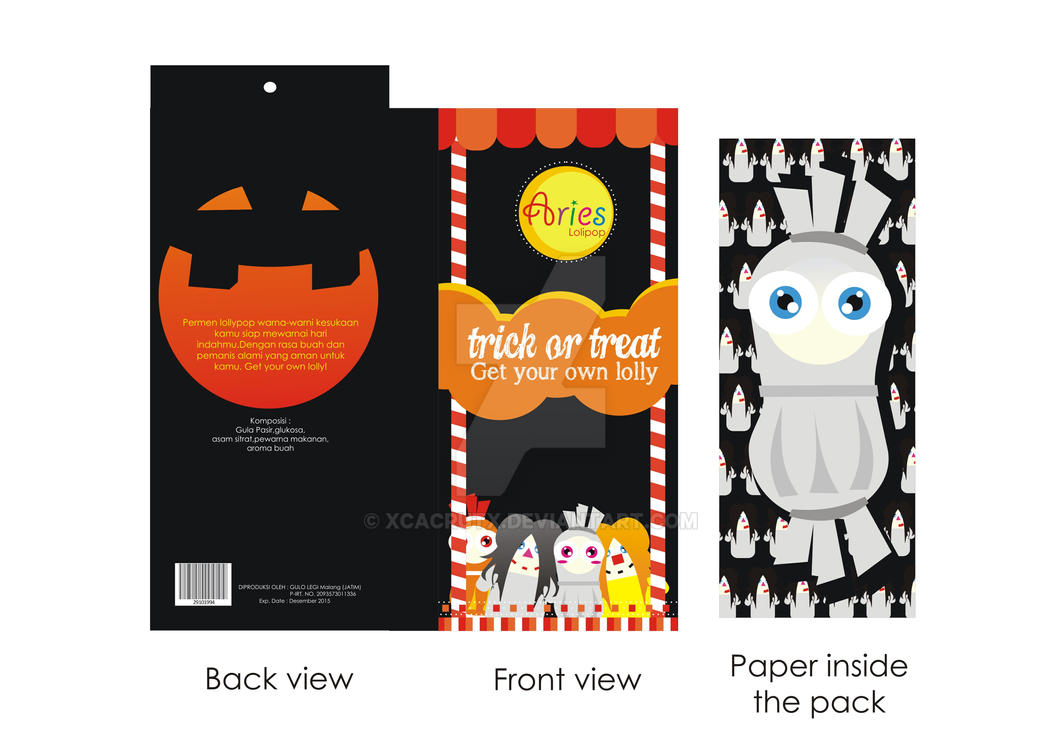 Candy Packaging Halloween Candy By Xcacrutx On Deviantart