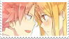 lucy x natsu stamp 2 by aestheticstamps