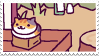neko atsume stamp 3 by aestheticstamps