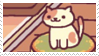 neko atsume stamp 4 by aestheticstamps