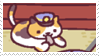 neko atsume stamp 6 by aestheticstamps