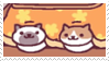 neko atsume stamp 7 by aestheticstamps