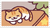 neko atsume stamp 8 by aestheticstamps