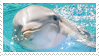 Dolphin Stamp by aestheticstamps