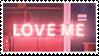 LOVE ME stamp