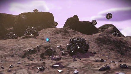 A magnetic planet