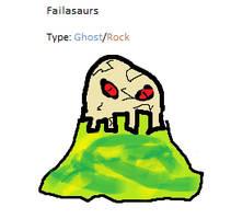 Failasaurs Pokedex by Cutiesaurs