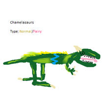 Chamelasaurs Pokedex by Cutiesaurs