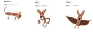 Batflap Pokedex line by Cutiesaurs
