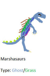 Marshasaurs by Cutiesaurs