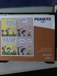 Peanuts comic June 1st