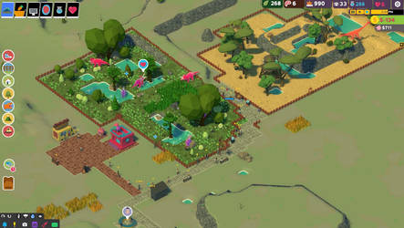 Repairing an old park by Cutiesaurs
