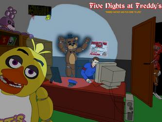 Five Nights at Freddy's fanart