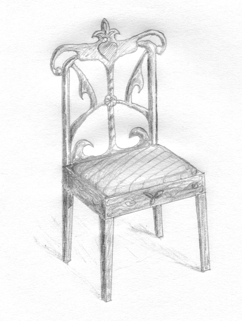 chair pencil drawing by nelutuinfo ...  sc 1 st  DeviantArt & chair pencil drawing by nelutuinfo on DeviantArt