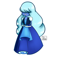 Sapphire by TrashcanAlphys