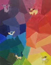 ~ColourMedia~ Eeveelutions
