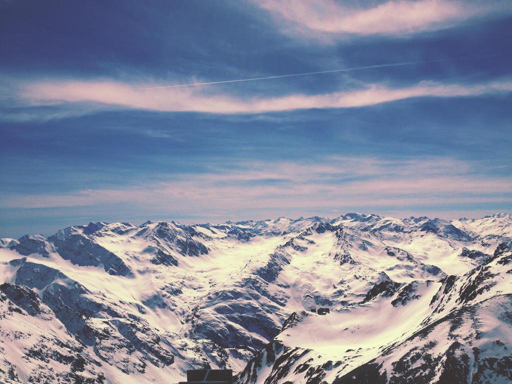Stubai Glacier Ski Resort, The Alps by fables1111