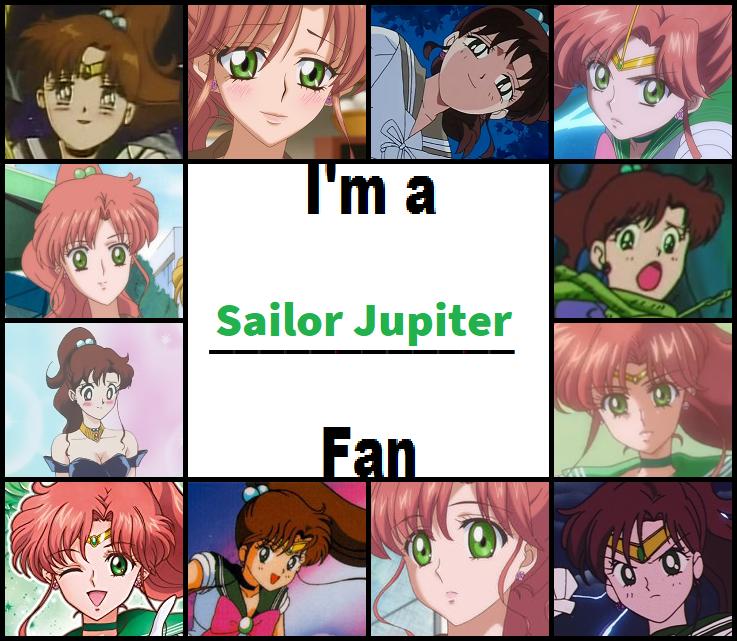 I'm a Sailor Jupiter Fan