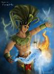 Mayan god: Hunab-Ku by XLordAndyX