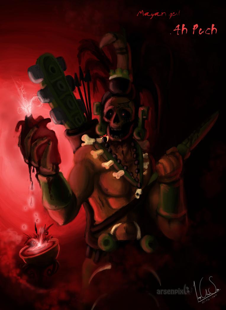 Mayan god  Ah Puch by ...