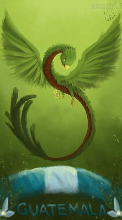 The Mystic 'Snake Bird' by XLordAndyX