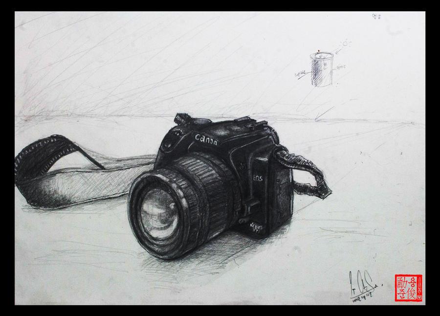Camera Drawing Un Life Object By Xlordandyx On Deviantart