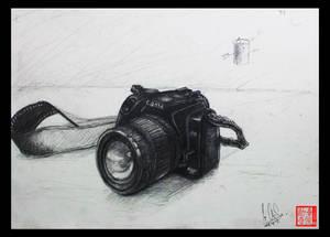 Camera Drawing (un-life object)