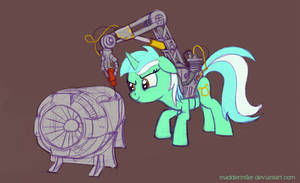 Lyra with a handy tool by MadderMike