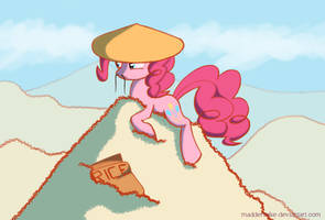 Ponka the rice overlord by MadderMike
