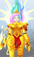 God-Empress Celestia by MadderMike