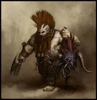 Dwarf Slayer by daarken