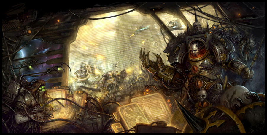 Horus Heresy by daarken