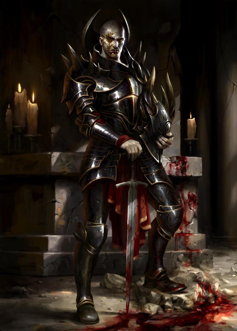 Ob Nixilis of the Black Oath by daarken