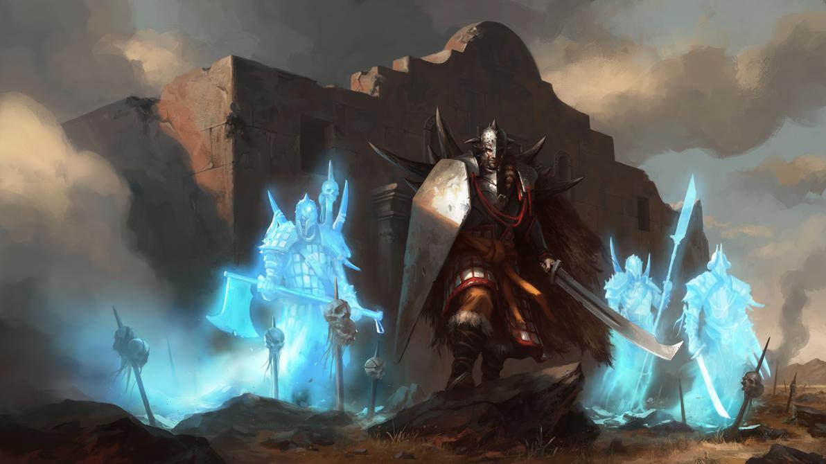 Spirits of War by daarken