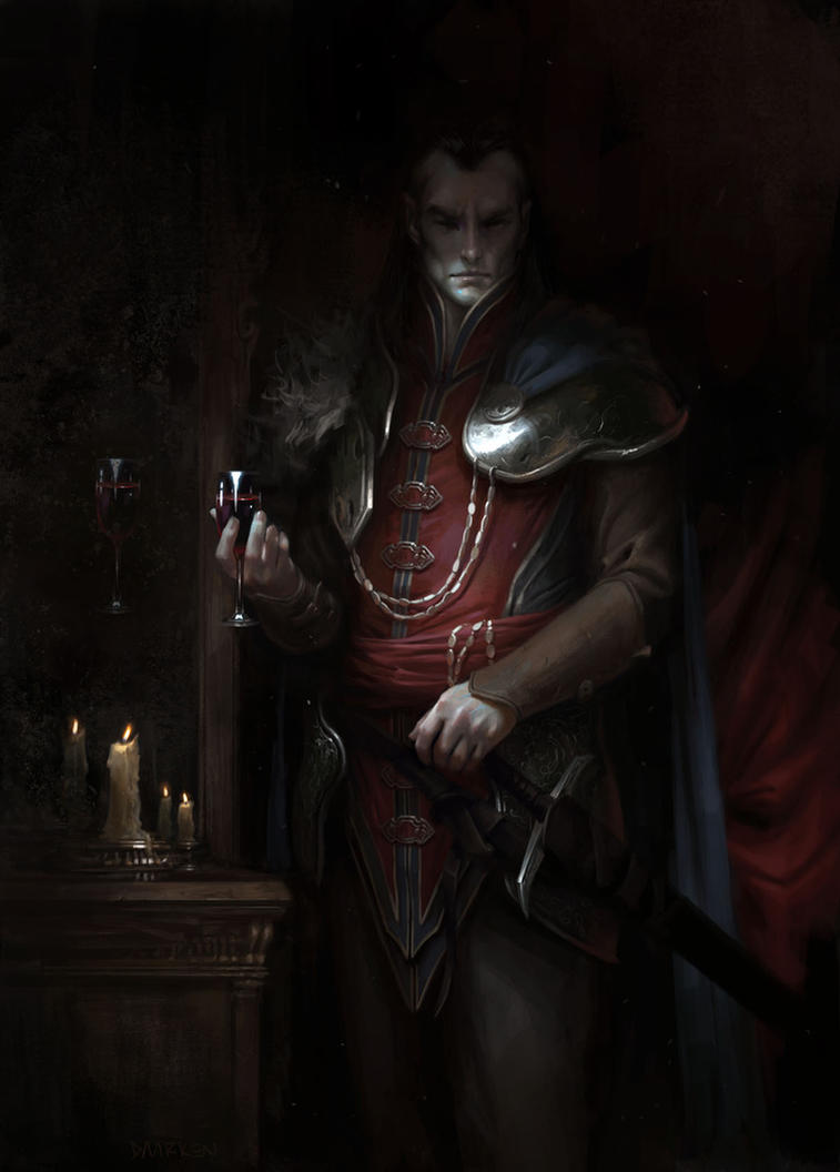 Curse of Strahd by daarken