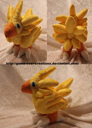 Final Fantasy VII - Chocobo Plush by Forge-Your-Fantasy