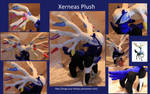Xerneas Plush - SOLD