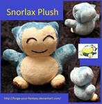 Snorlax Pokedoll Plush
