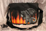 Custom Charizard Shoulder Bag